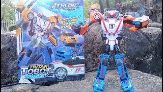 Unboxing Tobot Athlon Tritan Champion