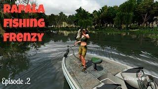 Rapala Fishing Frenzy/ 3 Stripped Bass pt2