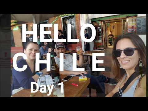 Hello Chile! Country #27 of my World Trip. Exploring Santiago!