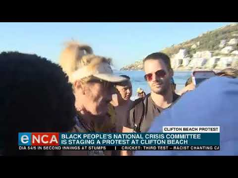 Clashes over sheep slaughtering at Clifton Beach
