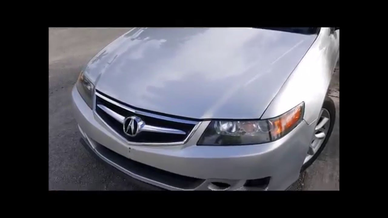 Acura TSX Front Lip Trim Install YouTube - Acura tsx lip