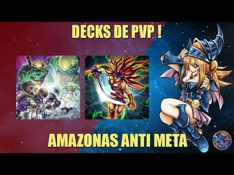 AMAZONAS ANTI META DECK PVP! - YUGIOH DUEL LINKS ESPAÑOL