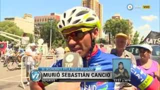 Visión 7 - La muerte del ciclista Sebastián Cancio