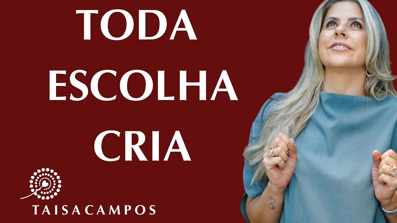 Toda escolha cria! Academia da Consciência #comigo Taisa Campos. Barras de Access Consciousness