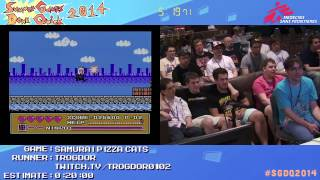 Summer Games Done Quick 2014 - Part 17 - Samurai Pizza Cats