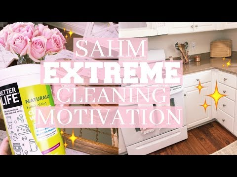WEEKLY CLEANING ROUTINE 2017 | NIGHT TIME CLEANING MOTIVATION OF ENTIRE FIRST FLOOR | Tara Henderson