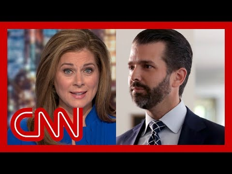 Erin Burnett debunks Trump Jr.: That answer is ridiculous