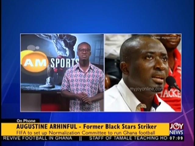 GFA Dissolution - AM Sports on JoyNews (17-8-18)
