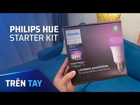 2 bóng đèn Philips + 1 hub giá 1,4 triệu, chơi được cả Apple và Google