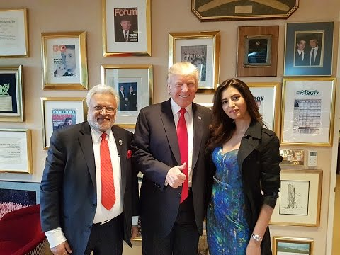 Manasvi & Shalabh Kumar On Meeting Donald Trump