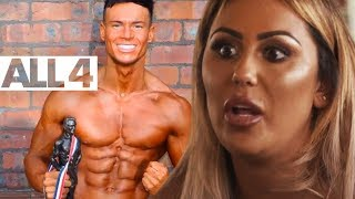 Geordie Shore's Sophie Kasaei's Relationship With Muscle Model Joel Corry | Six Pack Superstars