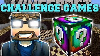Minecraft: EVIL SSUNDEE CHALLENGE GAMES - Lucky Block Mod - Modded Mini-Game thumbnail