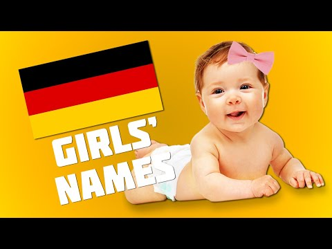 Top 20 Most Popular German Names For Girls | Get Germanized