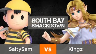 South Bay Smackdown - Winners R1: SaltySam (Ness) vs. Kingz (Zelda)