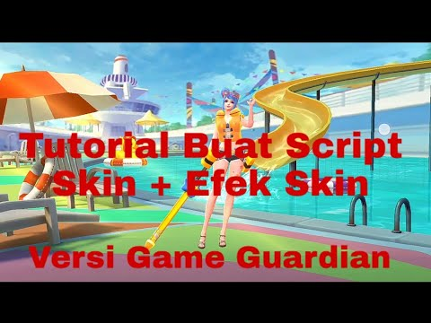 TUTORIAL BUAT SCRIPT SKIN VERSI GAME GUARDIANS!! Mobile legends thumbnail