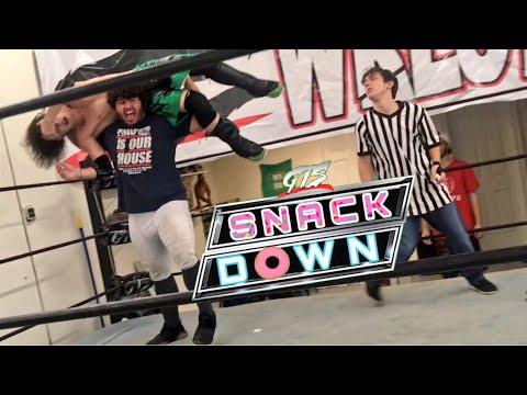 GTS Snackdown - 4 Man Bonus Match - WWE Wrestlecrate UK Toy Unboxing!