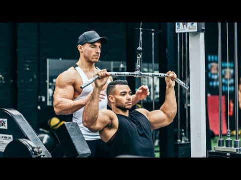 Full Back & Biceps Workout With Justin St Paul