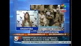 Argentina: desclasificarán documentos de atentado a embajada de Israel