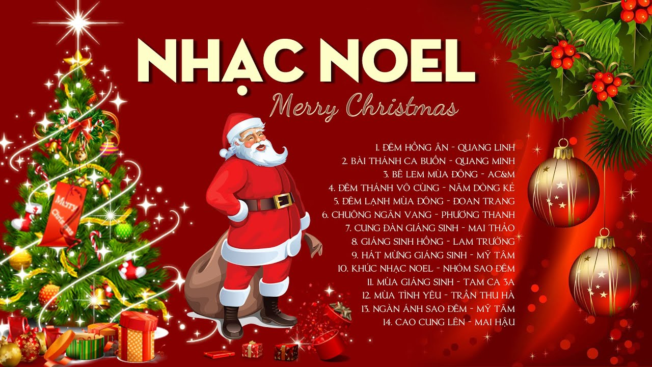 Nhạc Noel Xưa Hải Ngoại Hay Nhất - Nhạc Giáng Sinh Hải Ngoại Bất Hủ Mừng Sinh Nhật Chúa