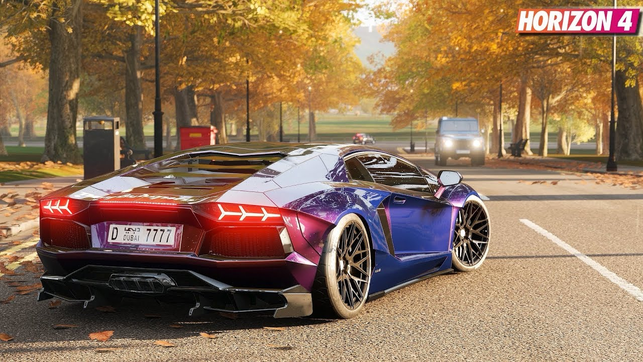 Forza Horizon 4 Lamborghini Aventador Lp700 4 Gameplay Youtube