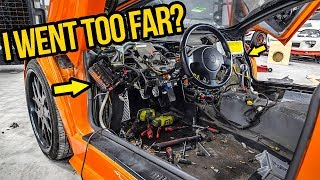 I RIPPED APART My Fast & Furious Lamborghini's Expensive Interior (It Was A NIGHTMARE!)
