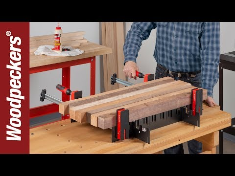 Glue-Ups Made Easy With The Universal Clamp Support