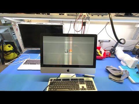 IMac 21 - Dziwne Paski Na Ekranie