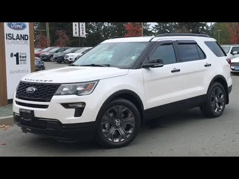 2018 Ford Explorer Sport EcoBoost AWD Review  Island Ford