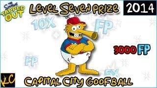 TSTO - Capital City Goofball - Seventh Prize (Friend Points)