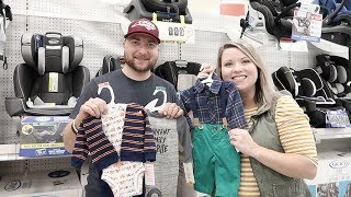 SHOPPING FOR OUR BABY BOY!