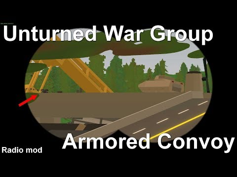 [S-M] Unturned War Group - Armored Convoy (Armored Infantry)