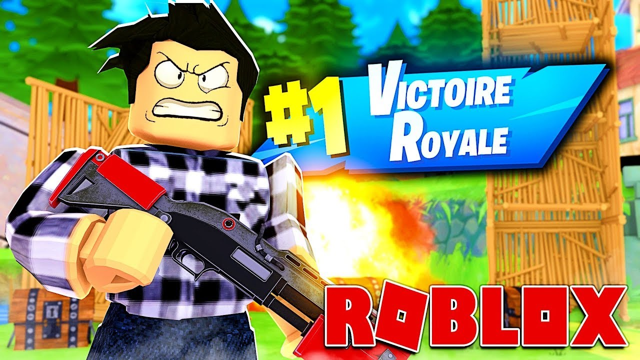 JE FAIS TOP 1 SUR FORTNITE ROBLOX ! | Roblox Strucid - YouTube