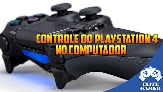 Como Ligar o Controle do Playstation 4 no PC