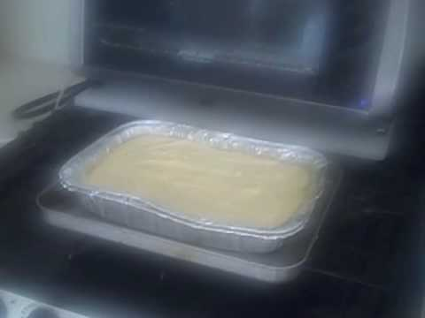 Toaster Oven Pinapple Upside Down Cake