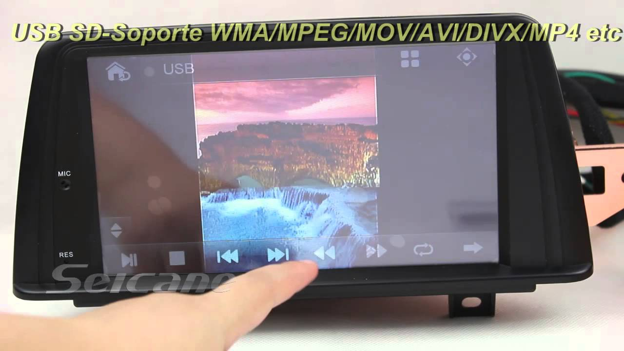 navegador gps dvd cd nuevo bmw serie 1 f20 con bluetooth usb sd a2dp ipod youtube. Black Bedroom Furniture Sets. Home Design Ideas