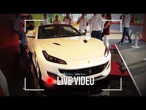 Ferrari Portofino | Eccola dal vivo alla Festa dei 70 anni del Cavallino!