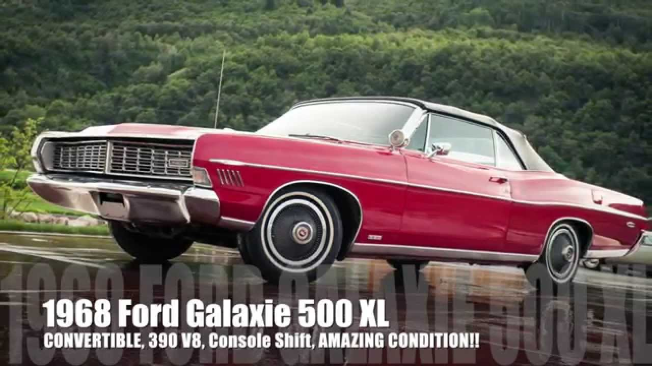 1968 Ford Galaxie 500 Xl Convertible 390 V8 Amazing Condition Inside Out