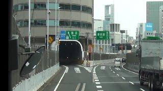 ビルの中を車が走る? 阪神高速道路11号池田線梅田出口