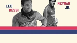 Neymar Jr & Messi