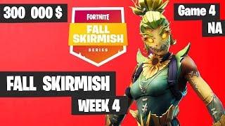 Fortnite Fall Skirmish - Week 4 Game 4 BIG BONUS (SOLOS)