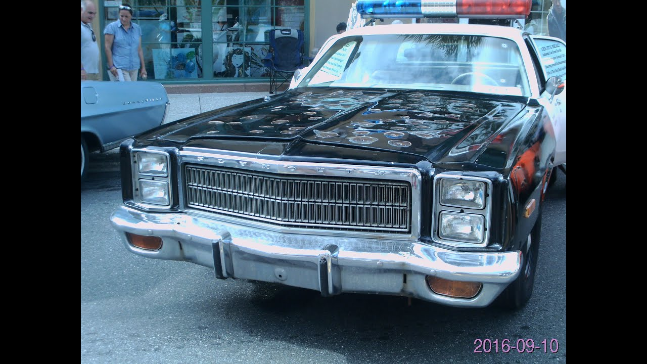 1978 Plymouth Fury Los Angeles Police Car Terminator Movie Blkwht 1964 Dodge Thevillages091716
