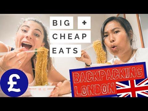 Where To Eat In London As A Backpacker - CHEAP + FILLING W/ Dejashu