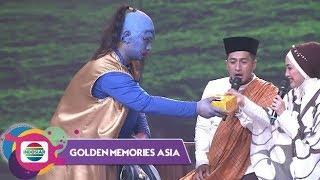 Geuleuh Pisan!! Gilang Jadi Jin Biru Bikin Repot Irfan 'Kabayan' & Desy 'Nyi Iteung' Ratnasari