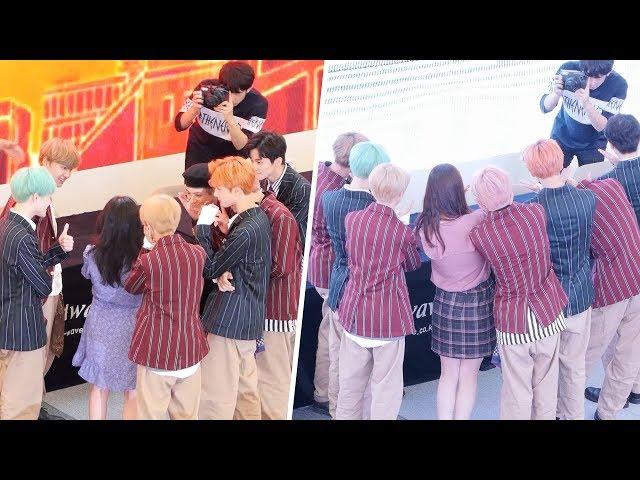 180914 엔시티드림 NCT DREAM : 팬과 사진촬영 Photo : 전체직캠 Fullshot : 팬사인회 fansign event : 고양 스타필드