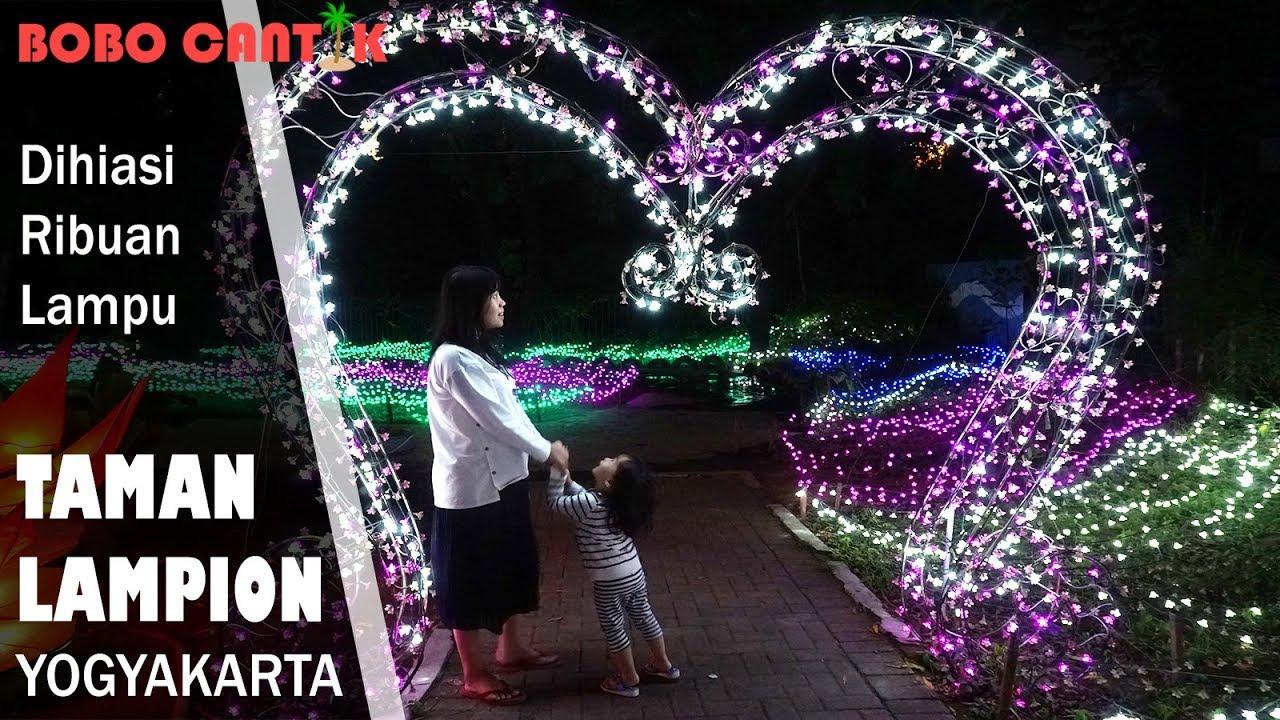Taman Lampion Yogyakarta Bukan Sekedar Lampu Hias Youtube