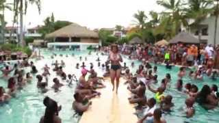 2014 Dominican Republican Punta Cana Pool party part 1