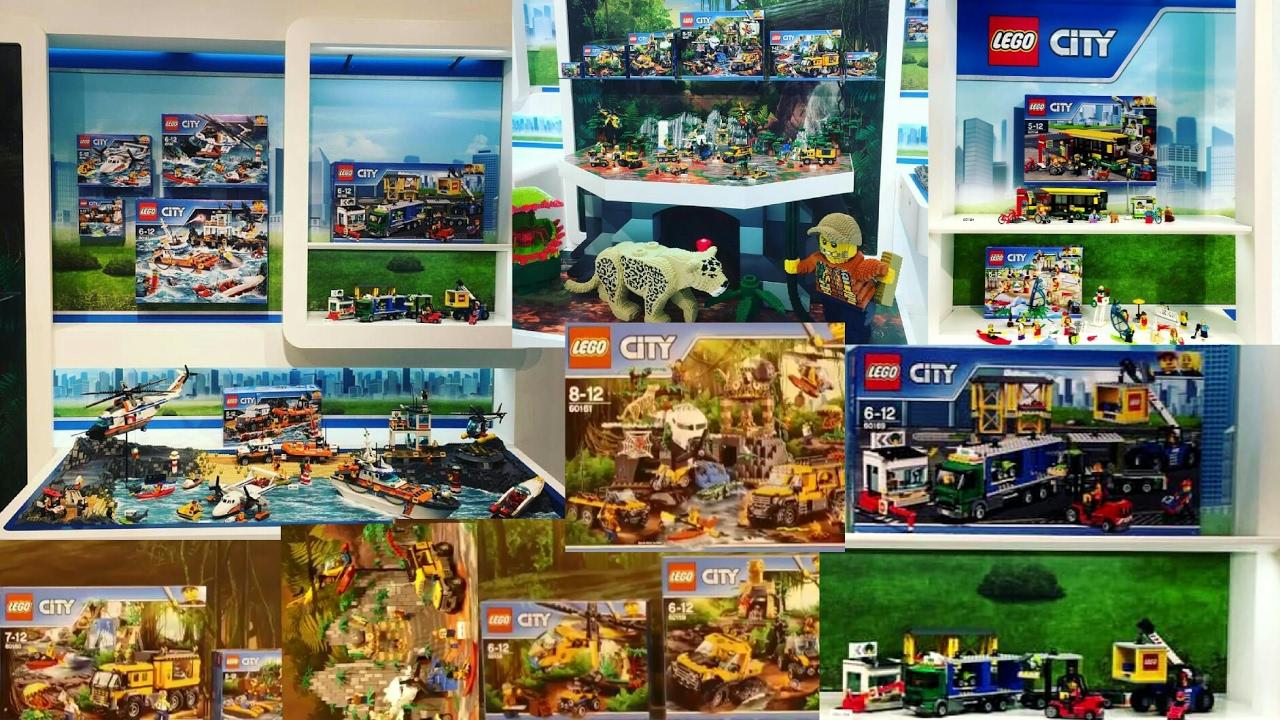 2017 Lego City summer sets pictures Jungle sets+ Sea Coast ...