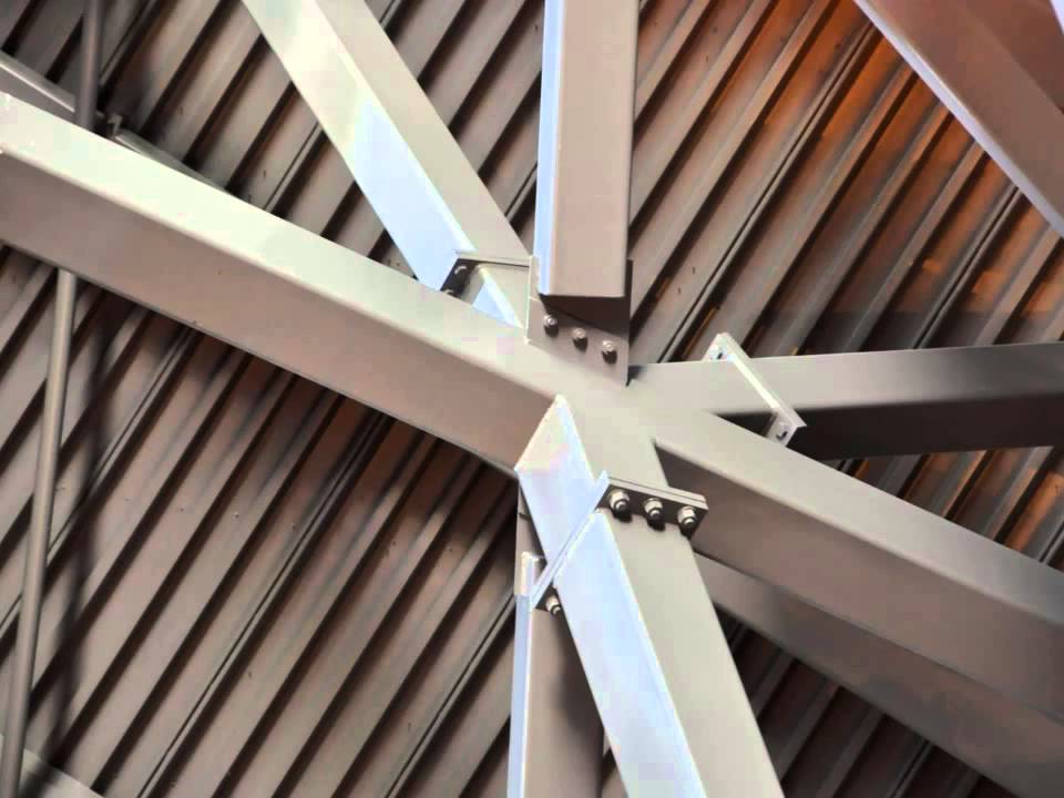Architecturally exposed structural steel part