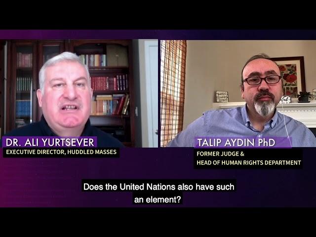 Broken lives; Dr. Talip Aydin PART 2: Former Judge & Head of Human Rights Dept.of Min.of Justice  TR