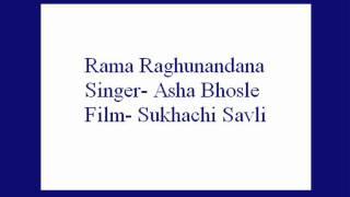 Download Hindi Video Songs - Rama Raghunandana- Asha Bhosle (Sukhachi Savli).